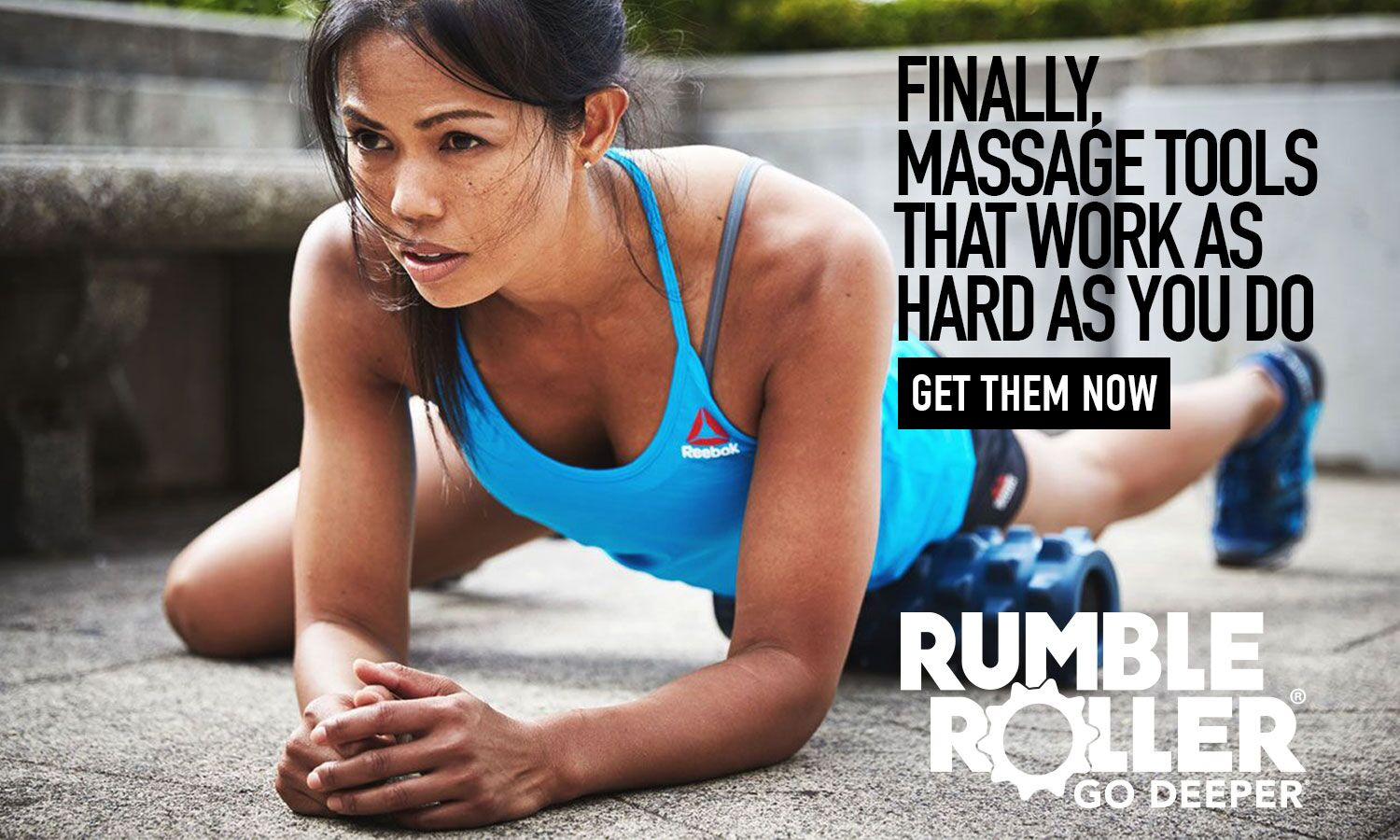 Rumble Roller training foam roll