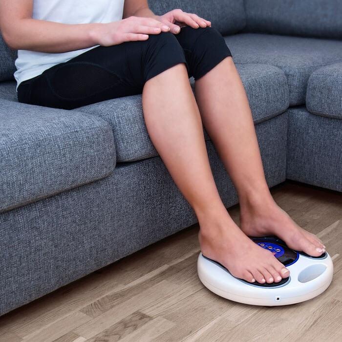 dålig blodcirkulation blå fötter